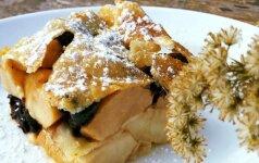 Rudeniškas, lengvas, kvapnus obuolių pyragas – gaminsite ir skanausite jį dar ne kartą