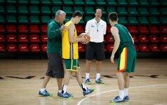 J. Kazlauskas: matosi, kad vyrai pasiilgo krepšinio