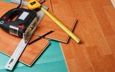 Pataria specialistas: kaip pritaikyti grindinį šildymą skirtingoms dangoms?