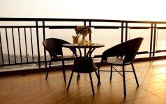 Kaip sumaniai ir funkcionaliai išnaudoti balkono erdvę?