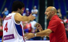 Serbijos rinktinei Europos čempionate nepadės jos vedlys