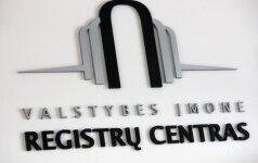 Auditas: Registrų centras veikia neefektyviai