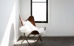 3 būdai, kaip interjerą dekoruoti avikailiu