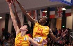 """Trečiadienį moterų Eurolygoje prieš """"Kibirkštį-VIČI"""" stos net trys WNBA žaidėjos"""