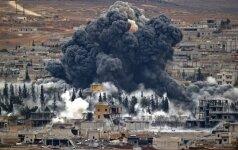 JAV reikalauja, kad Sirijos režimas nutrauktų Alepo bombardavimą