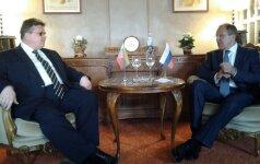L. Linkevičius atsakė Rusijos užsienio reikalų ministrui