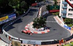 Formulės-1 Monako GP trasa