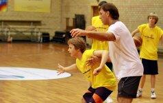 Š.Marčiulionio krepšinio akademija kviečia į atvirų durų dieną