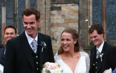 Andy Murray ir Kim Sears