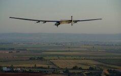 Solar Impulse 2 leidžiasi Ispanijoje