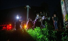 Nuo šios nakties migrantai apgręžiami prie sienos: ar gali būti panaudota jėga, priklauso nuo aplinkybių
