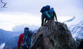 Monblano šturmas kalnų keteromis