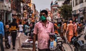 Koronavirusas Indijoje, asociatyvi nuotr.
