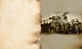 """Pirmą rusišką šarvuotį """"Ižorskij Fiat"""" mūsiškiai 1919 m. atėmė iš bolševikų ir pavadino """"Žaibu"""""""
