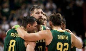 Lietuva smuko žemyn FIBA reitingo lentelėje