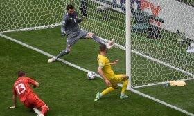 Ukraina ir Šiaurės Makedonija, Europos futbolo čempionatas