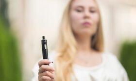 Septyni požymiai, kad jūsų vaikas priklausomas nuo elektroninių cigarečių