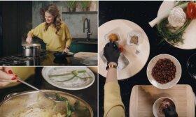 Sveika daržovių sriuba su vištiena, kurią itin greitai paruošite pietums