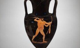 Amfora, vaizduojanti Dzeusą