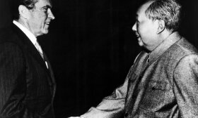 Mao Zedongas ir Richardas Nixonas