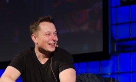 Elon Musk / Web Summit nuotr.