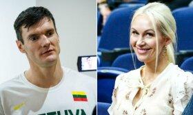 Edita ir Darjušas Lavrinovičiai jau sūpuoja dukrelę: išrinko ir vardą
