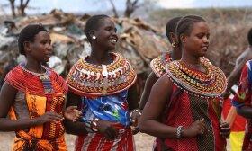 Masajų genties moterys