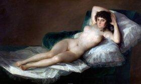 Francisco Goya. Apsinuoginusi Macha. 1800–1805