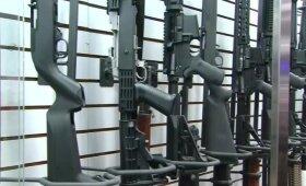 Po žudynių Floridos mokykloje išaugo ginklo AR-15 pardavimai