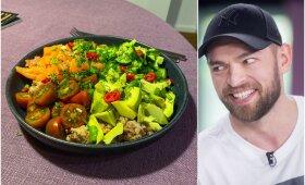 Salotos – gaivios, maistingos ir labai skanios