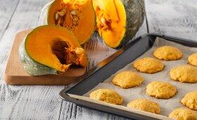Sausainiai su moliūgu – patiks ir vaikams