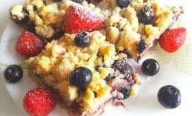 Sveikesnio trupininio pyrago receptas