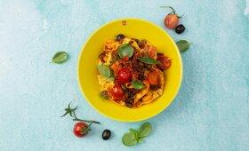 """Itališkai paruošti makaronai vos per kelias minutes – lyg """"Bolognese"""""""