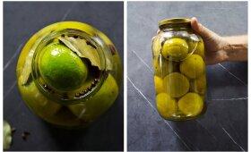 Marinuotos citrinos