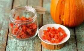 SVEIKA: moliūgų saldainiai