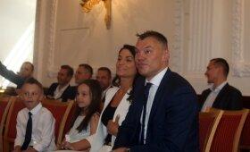 Žalgirio komandos ir Šarūno Jasikevičiaus pagerbimas