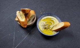 Avinžirnių humusas – sveikas užkandis ir mažam, ir dideliam