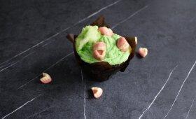 Žalias keksiukų kremas