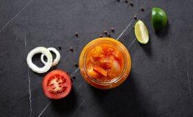 Troškinti pomidorai – ir sriuboms, ir padažams