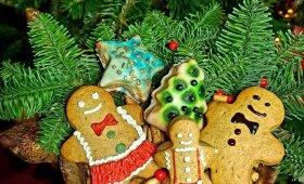 Neringos Zeleniūtės kalėdinių sausainių receptas