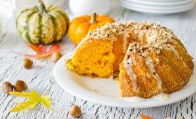 Medaus, moliūgų ir anakardžių pyragas – skonis jus maloniai nustebins