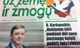 Laikraštis Už žemę ir žmogų