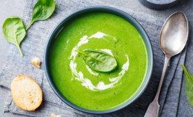 Brokolių ir špinatų sriuba, kurios neatsisakys net vaikai