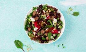 Naujoviškos burokėlių salotos (nustebinkite jomis namiškius)