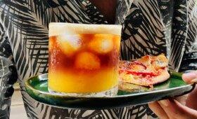 Kavos, apelsinų ir imbiero kokteilis