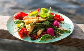 Kaip iškepti traškias ir sultingas daržoves ant grilio