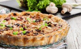 Daržovių tarta – idealiai atrodo ir nepaprastai skani