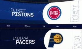 """""""Pacers"""" pralaimėtas mūšis """"Pistons"""" vyrukams"""