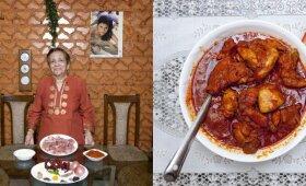 82 metų Grace Estibero iš Indijos