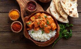 Indiška vištienos troškinys – aromatinga ir be galo skanu –